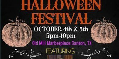 Old Mill Marketplace Halloween Festival tickets