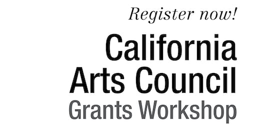 2019 California Arts Council Grants Workshop: Orland