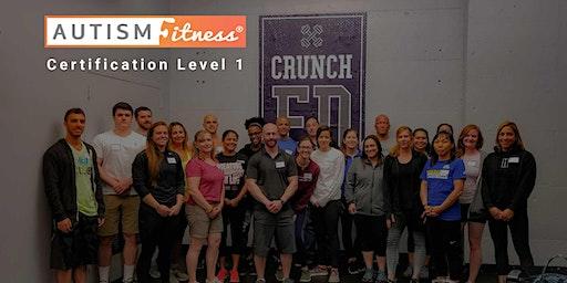 Autism Fitness Level 1 - Plano-TX - June-27-28-2020