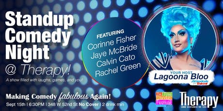 Therapy w/Lagoona Bloo Comedy Night! tickets