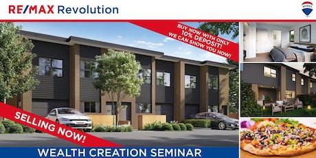 Wealth Creation Seminar tickets
