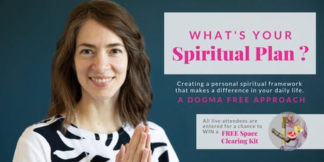 [ONLINE]  What's Your Spiritual Plan? - Living your unique spirituality tickets