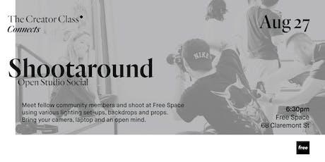 Shootaround: Open Studio Social tickets