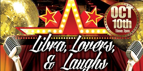 Libra, Lovers and Laughs Comedy Show tickets