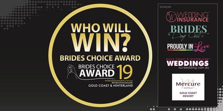 Gold Coast & Hinterland Brides Choice Awards Gala Cocktail Party 2019 tickets