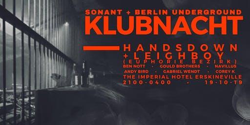 Klubnaucht - Berlin Underground & Sonant