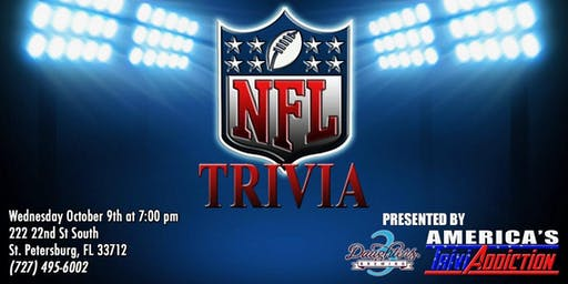 3 Daughters Brewing Presents: NFL Trivia!