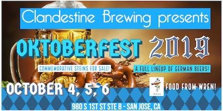 Oktoberfest 2019 @ Clandestine Brewing tickets