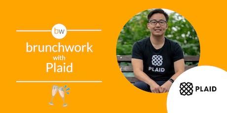 FinTech brunchwork with Plaid tickets