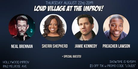FREE COMEDY TIX: Neal Brennan, Sherri Shepherd + more at the Improv! tickets