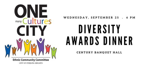 Sterling Heights Ethnic Community Committee's Diversity Award Dinner tickets