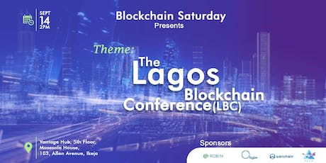 The Lagos Blockchain Conference (LBC) tickets