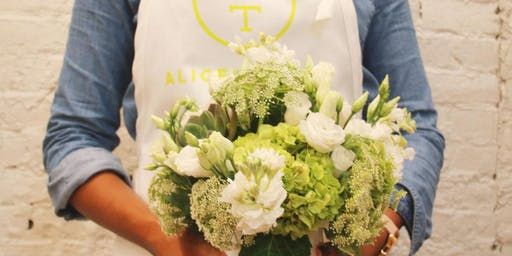 Fall for Flowers at Williams-Sonoma Tysons Galleria with Alice's Table