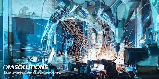 High School Teacher PD - Inside Advanced Manufacturing | Thurs 24 Oct 2019