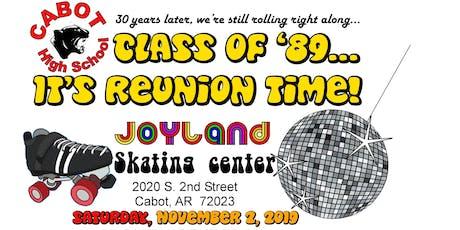 CHS Class of '89 Reunion tickets