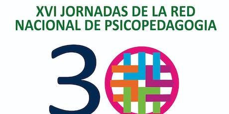 PRE-JORNADA RED NACIONAL DE PSICOPEDAGOGIA entradas