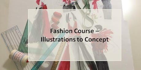 Fashion Course - Illustration to Concept tickets