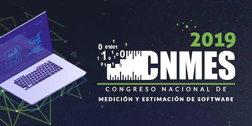 CNMES 2019 Congreso Nacional de Medición y Estimación de Software