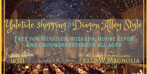 Yule Shopping at Hogwarts