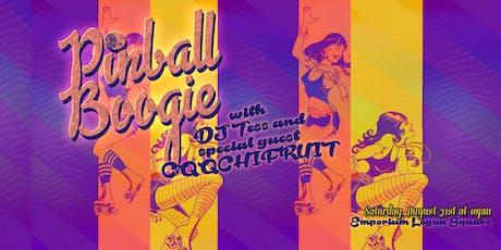 Pinball Boogie Feat. DJ Tess & CQQCHIFRUIT tickets