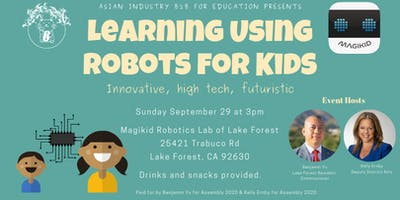 """AIB2B for Education Presents """"Learning Using Robots for Kids"""""""