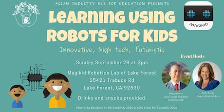 "AIB2B for Education Presents ""Learning Using Robots for Kids"" tickets"