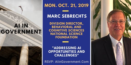 AI in Government - Dr. Marc Sebrechts, NSF