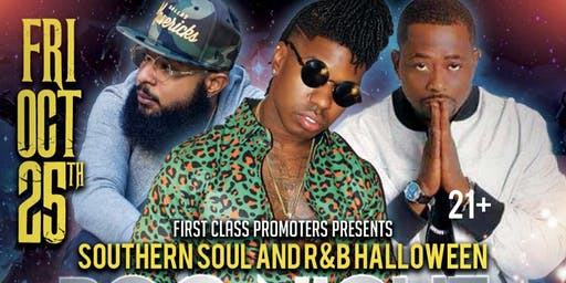 Halloween Boo Night Out (J-Wonn, Calvin Taylor & Gentleman Jaye