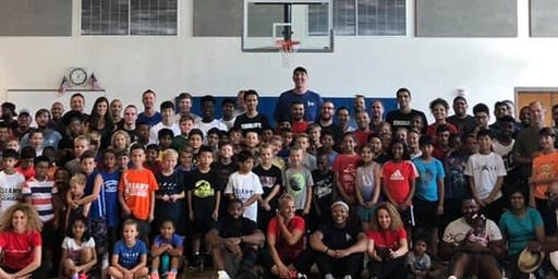 Free Youth Basketball Clinic Hosted By Former NBA Star Gheorghe Muresan