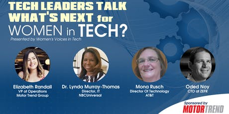 Tech Leaders Talk: What's Next for Women in Tech? tickets