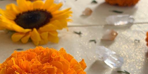 Virgo New Moon Earth Magick Crystal Grid Sacred Ceremony