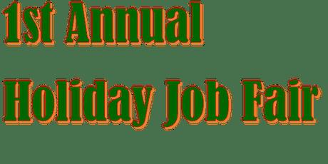 Holiday Season Job Fair tickets