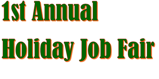 Holiday Season Job Fair