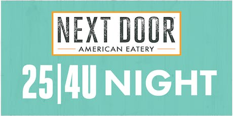 Clayton Early Learning 25|4U Night at Next Door in Union Station tickets