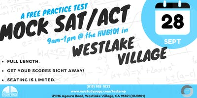 FREE Mock SAT/ ACT Test
