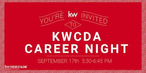 KWCDA  September Career Night