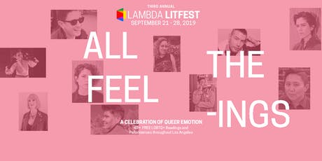 Lambda LitFest Main Day tickets