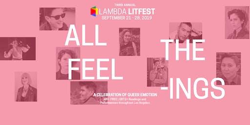 Lambda LitFest Main Day