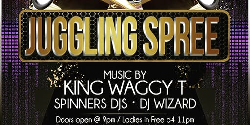 Juggling Spree This Saturday