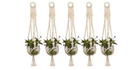 Plant Hanger Macrame & Sip tickets