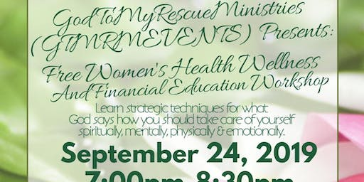 Women's Health Wellness And Financial Education  Workshop