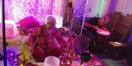 Revitalizing Sound Healing Bath Meditation Holistic Psychic Fair tickets