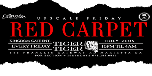 Upscale Friday / Red Carpet edition