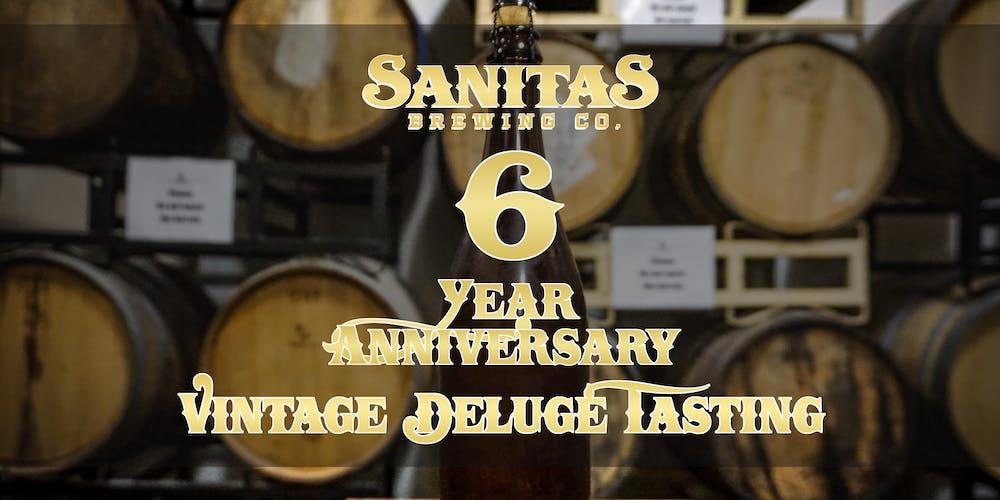 6 Year Anniversary Vintage Deluge Tasting