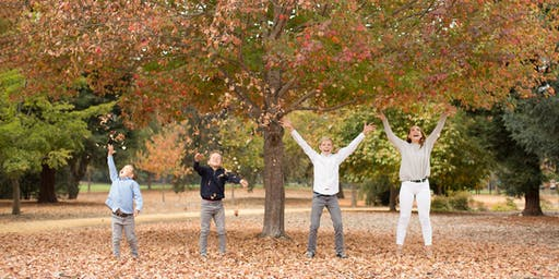 Fall Mini Session - Sunday October 13th - Holbrook Palmer Park, Menlo Park
