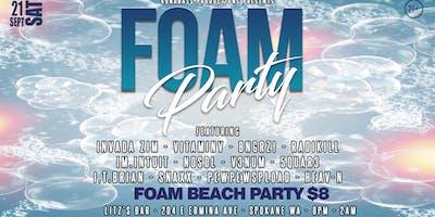 FOAM PARTY - 9.21.19 - LITZS BAR