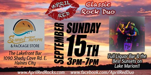 April Red debuts at The Lakefront Bar in Haines City!