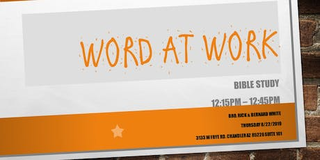 Word at Work Bible Study tickets