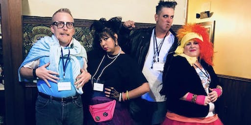 Death by the '80s Murder Mystery Show