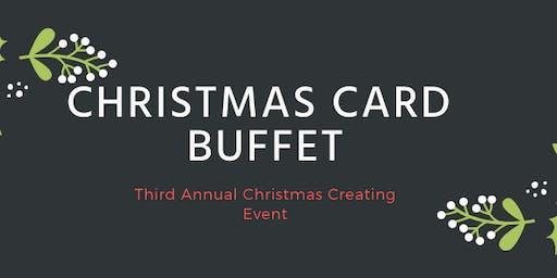 Third Annual Christmas Card Buffet